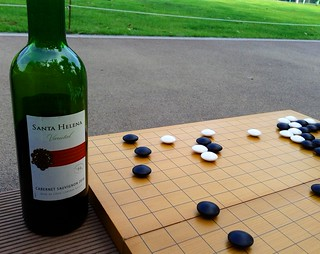 Wine and baduk