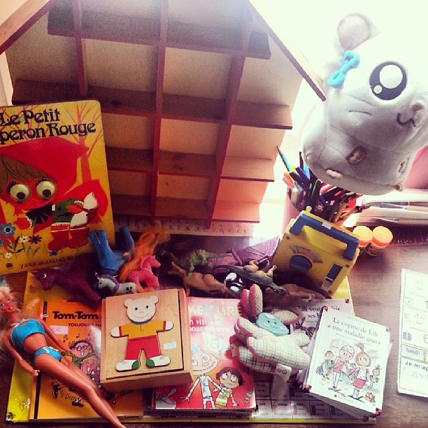 On a chiné ^^ #videgrenier #brocante #vintage #vintagetoys #blog #blogueuse #france
