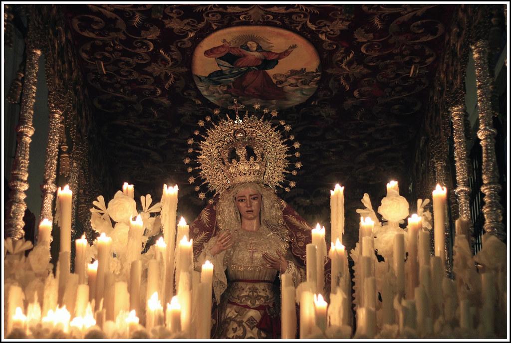 Ntra Sra de los Santos Martires. Via Crucis Magno de la Fe.14 de septiembre, Cordoba.
