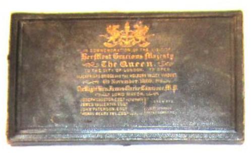 Blackfriar's Bridge medal box