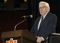 Acclaimed writer and historian David McCullough discusses the critical role of history in education, life and citizenship at Auburn University on Oct. 15.