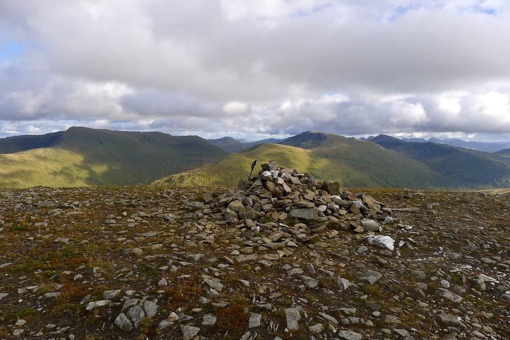 Summit of Beinn Mhanach