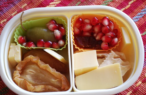 Pom and Pears Snack Bento