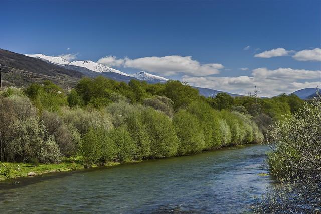 El Río Jerte en El Rebollar / The River Jerte in El Rebollar