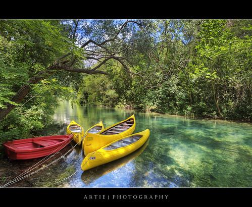 trees nature water photoshop canon river landscape landscapes boat croatia wideangle canoe canoes handheld split ef 1740mm f4 hdr artie cs3 cetina 3xp photomatix tonemapping tonemap 5dmarkii 5dm2 rivercetina radmanoveminice radmanmills