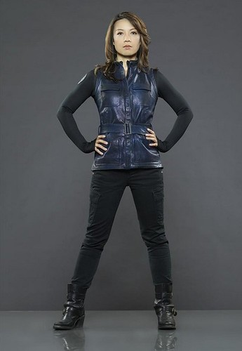 A promotional photo of Agent May from Agents of SHIELD