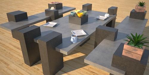 Unique concrete furniture, concept design and production by 108.167.189.34