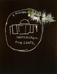 Basquiat Monticello painting