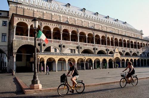 Piazza della Fruta, en Padua