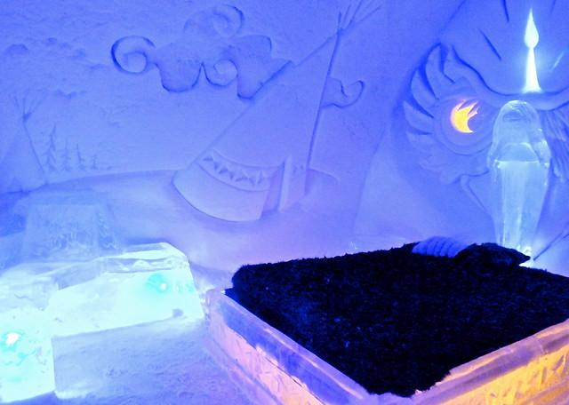 Les meilleures activités du Quebec dormir dans un hôtel de glace?