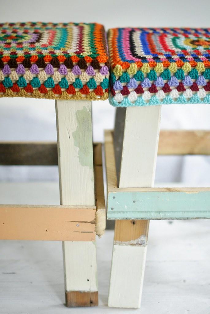 Cool Wood Wool Stools Ellis Jana Ingrid Jansen Flickr Pdpeps Interior Chair Design Pdpepsorg
