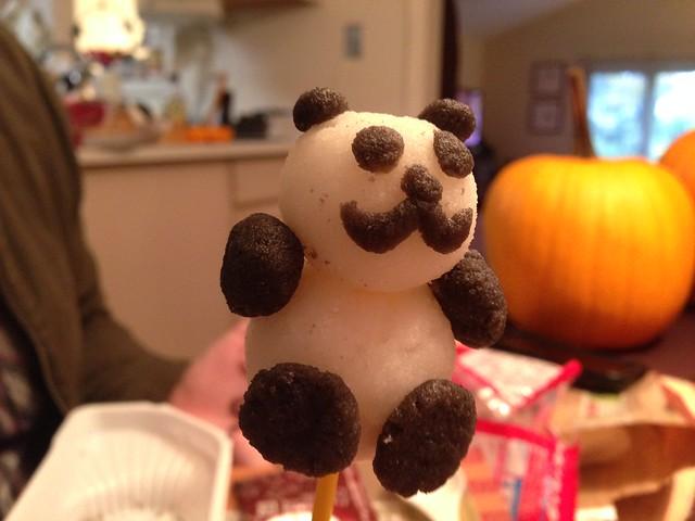 Kracie Panda Dumpling Result