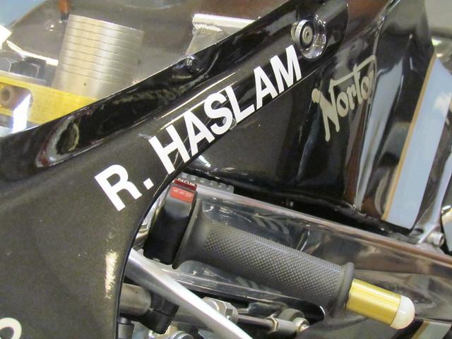 Header of ron haslam
