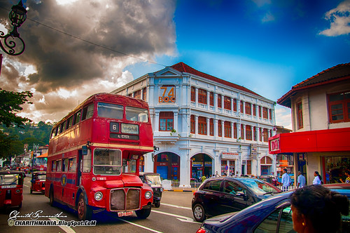Routemaster - Kandy Sri Lanka by CharithMania