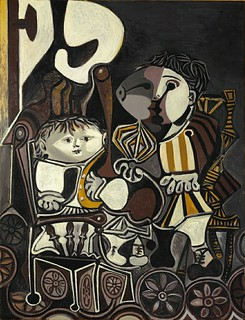 Picasso, Pablo (1881-1973) - 1950 Claude and Paloma (Christie's New York, 2013)