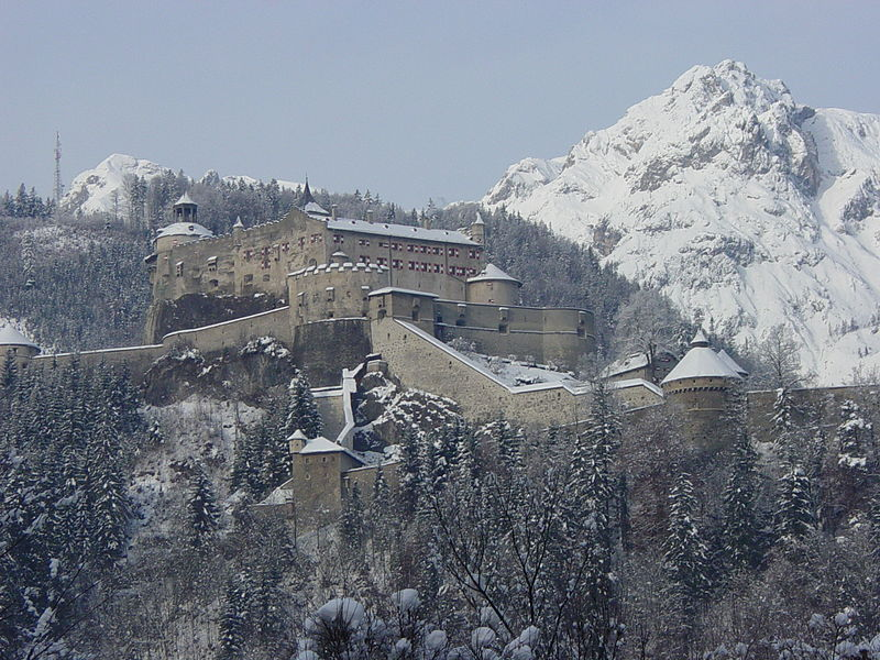 10. Castillo de Hohenwerfen, cerca de Salzburgo. Autor, Dvdstphns