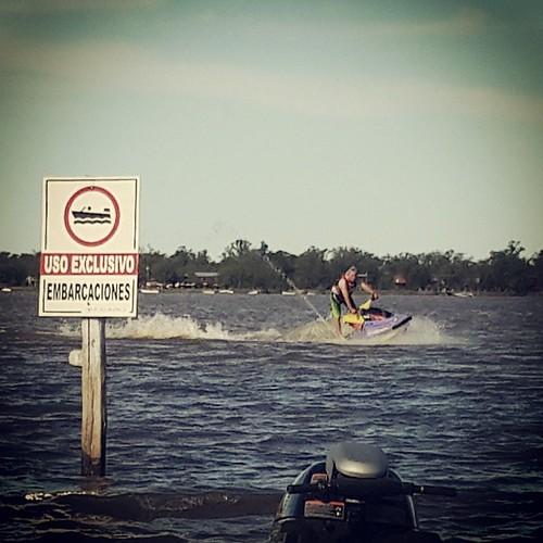 Exclusivo/ #sunday #Ramallo #jetski #river #playaBlanca #rio #WaveBlaster #PWCdaily #watersports
