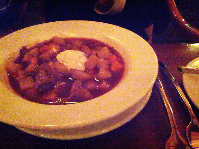 Venison Goulash Soup @ Sleeping Buffalo Lounge