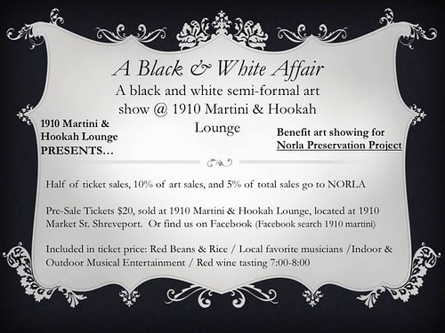 Norla benefit: A Black & White Affair by trudeau