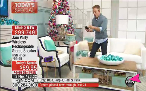 HSN Holiday Set Design