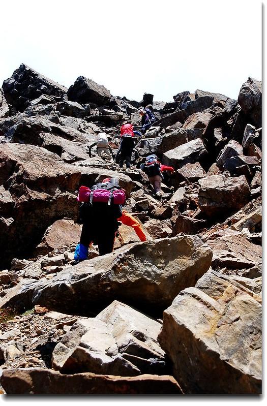 攀登素密達山 3