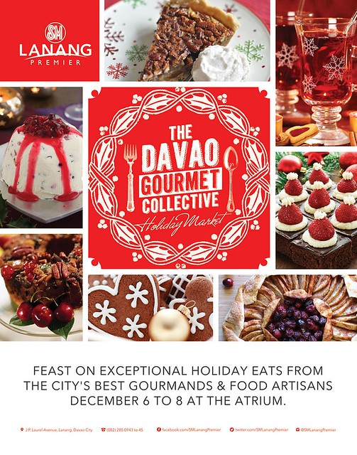 Get A Taste of Christmas At SM Lanang Premier's Davao Gourmet Collective