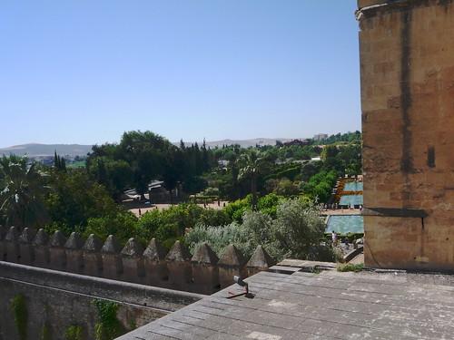 Im Rücken auch der schöne Blick auf die Mezquita