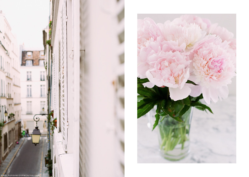 Pink Peonies at Home, photo by Carin Olsson of Paris in Four Months
