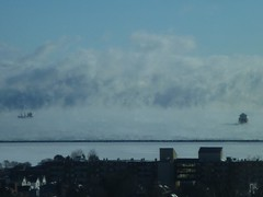 2013 12 07 Ships in the clouds in Thunder Bay Harbour  2 of 14