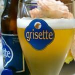 ベルギービール大好き!!グリセット・ブロンシュ Grisette Blanche