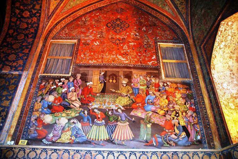 61 Palacio de Chehel Sotun o de las 40 columnas en Isfahan (19)