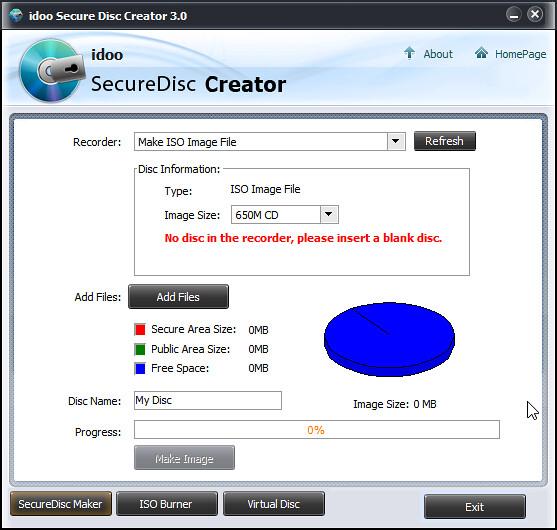 idoo Secure Disc Creator 3.0