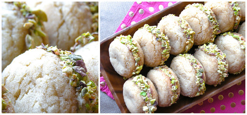 Mrs Fields Secrets Orange Pistachio Cookies