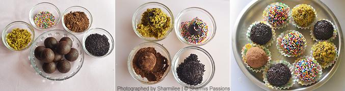 How to  make cake balls recipe - Step3