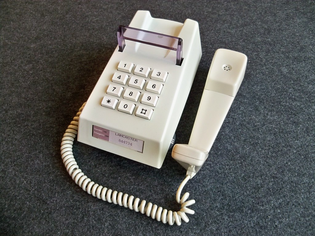 ZZR Tele No 786 Trimphone Manufactured by Pye (TMA) in Air