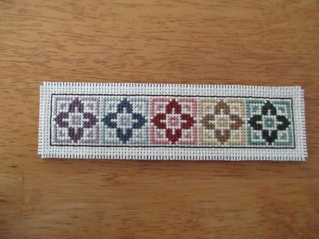 Cross-stitch bookmark