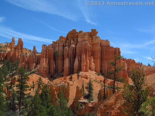 Hoodoos and Spires along the Fairyland Trail, Bryce Canyon National Park, Utah