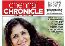 Post image for Princess of Pirouettes ~ Says Deccan Chronicle