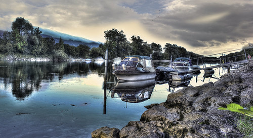 cameraphone travel panorama nature water reflections river landscape photography switzerland landscapes boat nokia photo rocks europe nuvole photographer fiume zurich barche explore rivers svizzera riflessi hdr zurigo explored pureview nokia808pureview cirosantopietro
