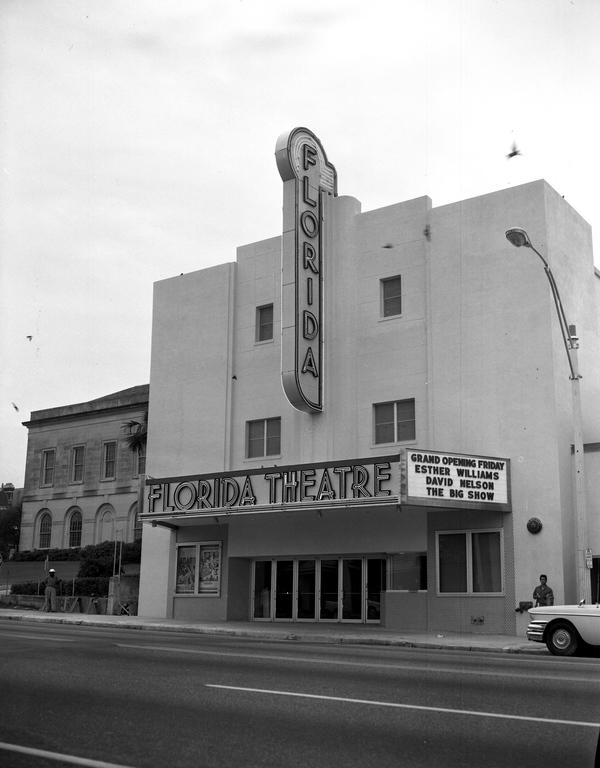 Florida Theatre on Monroe Street in Tallahassee, Florida