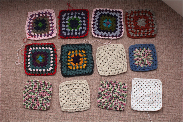 granny squares for charitry