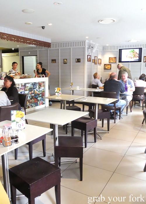 Dining room inside Rim Tanon Haymarket Chinatown