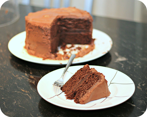 Chocolate Cake Made With Pinto Beans