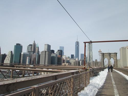 Brooklyn Bridge, NYC. Nueva York