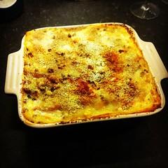 meal, breakfast, food, dish, cuisine, lasagne,