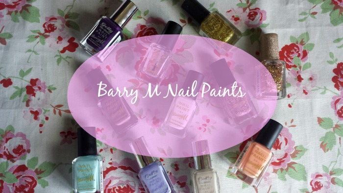 Barry M Nail Paints Collection / raspberrycheeks