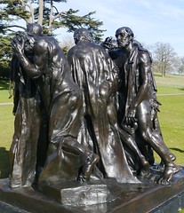 Auguste Rodin, Burghers of Calais, (1889)