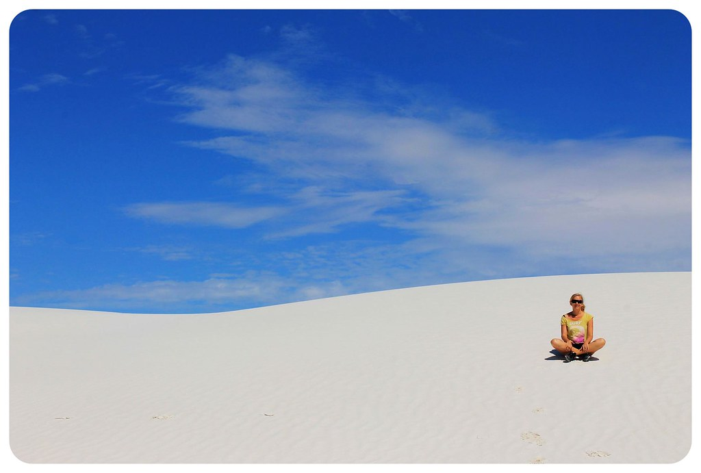 White Sands New Mexico dani
