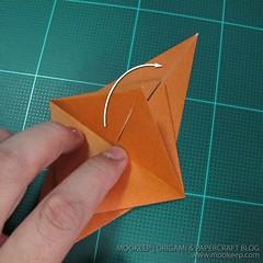 วิธีพับกระดาษเป็นรูปหมี (Origami Bear) 003