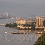 Edgewater on the Hudson River, New Jersey